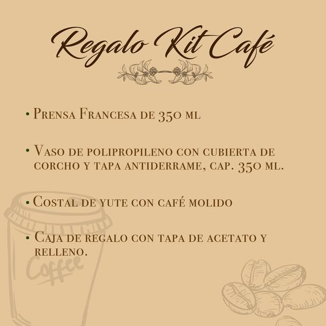 REGALO KIT CAFÉ