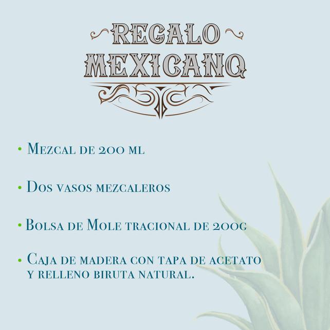 REGALO MEZCAL