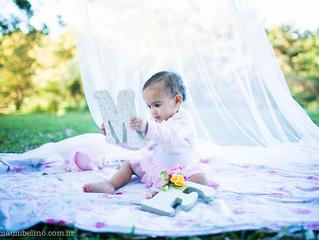 Maria Flor | Ensaio 1 ano | Aldeia da Serra - SP