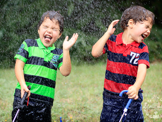 Zach e Greg | Ensaio Infantil | Dallas - TX