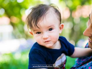 Lorenzo | 6 meses | Parque Ibirapuera - SP