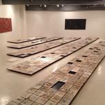 2014富田啓之個展-失念-「千枚陶板」