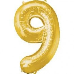 Jumbo Number 9 - Gold