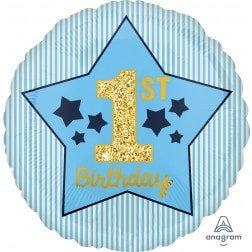 Standard Number - 1st Birthday Boy