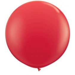 "30"" Latex Balloon - Red"