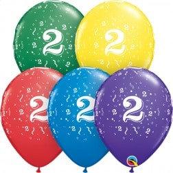 "11"" Latex Balloon-# 2 Assort."