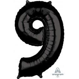 Jumbo Number 9 - Black