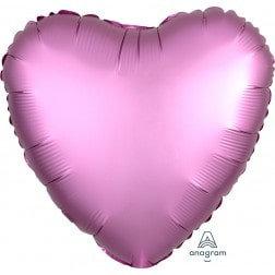 Heart Flamingo Satin