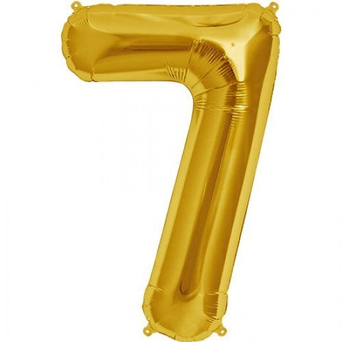 Jumbo Number 7 - Gold