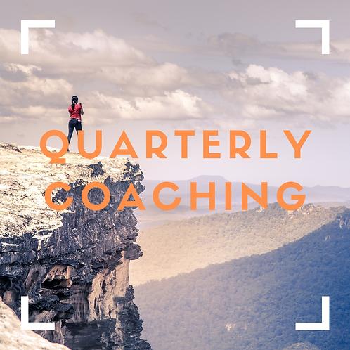 Quarterly Coaching