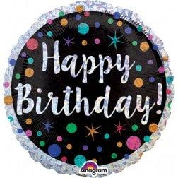 Standard Foil - Happy Birthday
