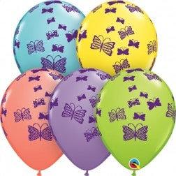 """11"""" Latex Balloon-Butterfly Assort."""