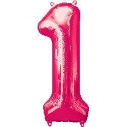 Jumbo Number 1- Pink