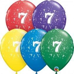 "11"" Latex Balloon-# 7 Assort."