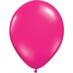 "11"" Latex Balloon -Meganta"