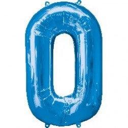 Jumbo Number 0 - Blue