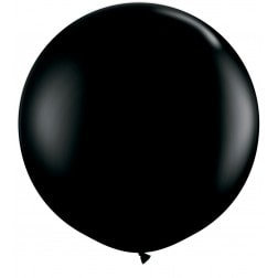 "30"" Latex Balloon - Black"