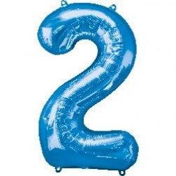 Jumbo Number 2 - Blue