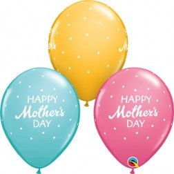 """11"""" Latex Balloon-Mother's Day"""