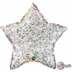 Star Silver Glitter