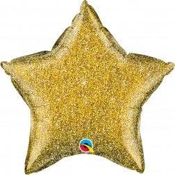 Star Gold Glitter
