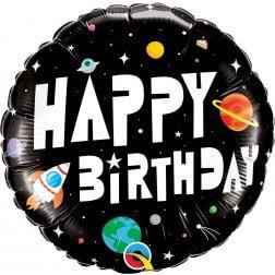 Space Happy Birthday