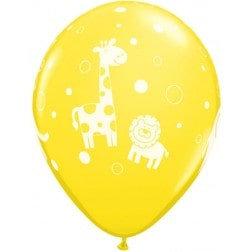 "11"" Latex Balloon-Baby Animals Assort"