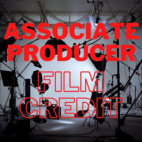 Associate Producer Film Credit- short film
