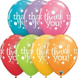 "11"" Latex Balloon-Thank You Assort."