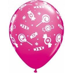 """11"""" Latex Balloon - Candy Assort."""