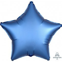 Star Azure Satin