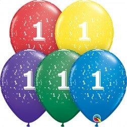 "11"" Latex Balloon-# 1 Assort."