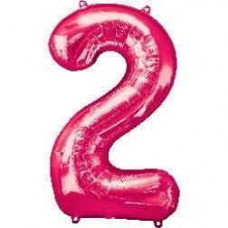 Jumbo Number 2 - Pink
