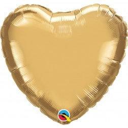 Heart Chrome Gold