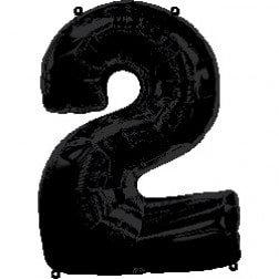 Jumbo Number 2 - Black