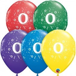 "11"" Latex Balloon-# 0 Assort."