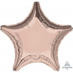 Star Rose Gold Metallic