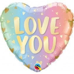 Heart Shape - Pastel Love You