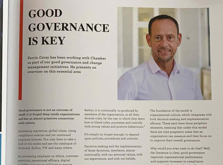 GOOD GOVERNANCE IS 'THE' KEY
