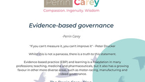 Evidence-based governance