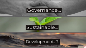 Governance...sustainable...development?