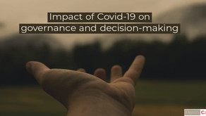 Impact of Covid-19 on Governance and decision-making