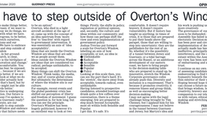 GUERNSEY, GOVERNANCE AND OVERTON'S WINDOW