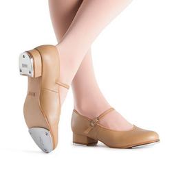 Tan Tap Shoes Girls
