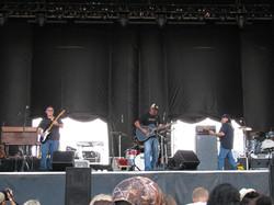 The band performs at Harrah's