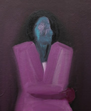 Pink Suit, 2020 Oil on canvas 24 x 36 inches