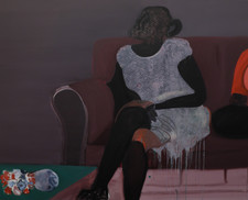 Red Blouse, 2020 Oil on Canvas. 48 x 60 inches