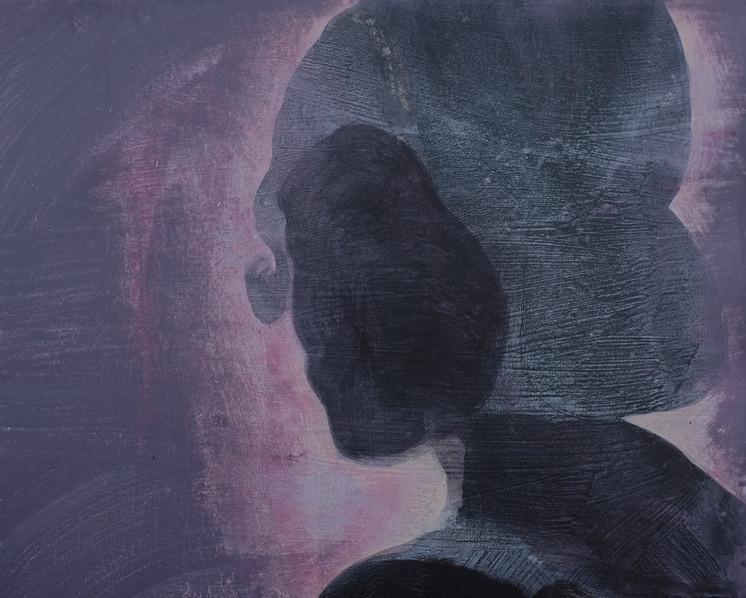 She IX, 2020. Acrylic on canvas. 16 x 20 inches
