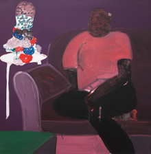 Green Table, 2020 Oil on Canvas. 48 x 48 inches