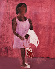 Red Bag, 2020 Oil on Canvas. 60 x 48 inches